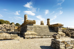 Archaeological site of Baelo Claudia in Spain. Royalty Free Stock Images