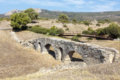 Archaeological site of Baelo Claudia in Spain. Royalty Free Stock Photos