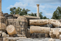 Archaeological site, Beit Shean, Israel Royalty Free Stock Photography