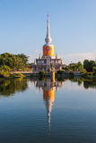 Archaeological site of Buddhism Thailand Royalty Free Stock Images