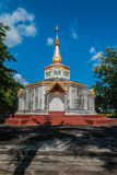Archaeological site of Buddhism Thailand Stock Photo