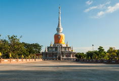 Archaeological site of Buddhism Thailand Stock Photography