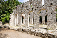 Archaeological site of butrint albania europe Royalty Free Stock Photo