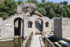 Archaeological site of butrint albania europe Stock Photos