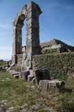 Archaeological site of Carsulae in Italy. View of the archaeological site of Carsulae. Carsulae is an archaeological site in Umbria, central Italy, now one of Stock Photography