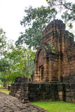 Archaeological site, Castle of Thailand Stock Photography