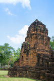 Archaeological site, Castle of Thailand Royalty Free Stock Photo