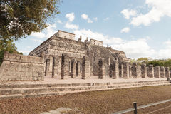 Archaeological site in Chichen Itza Mexico. Stock Photography