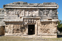 Archaeological site of Chichen Itza on Yucatan Royalty Free Stock Photos