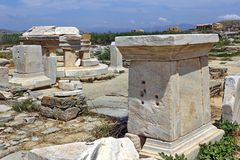 Archaeological Site of Delos Stock Photography