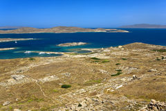 Archaeological Site of Delos Royalty Free Stock Images