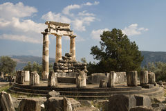 Archaeological site of Delphi Stock Photos