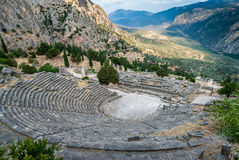 Archaeological site of Delphi, Greece Stock Image
