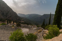 Archaeological Site of Delphi, Greece Royalty Free Stock Photo