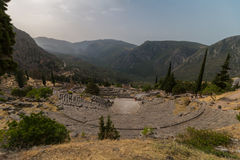 Archaeological Site of Delphi, Greece Royalty Free Stock Image