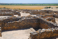 Archaeological site Doña Blanca Stock Image