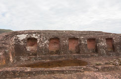 Archaeological site El Fuerte de Samaipata (Fort Samaipata) Royalty Free Stock Photo