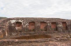 Archaeological site El Fuerte de Samaipata (Fort Samaipata) Royalty Free Stock Photo