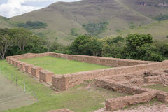 Archaeological site El Fuerte de Samaipata (Fort Samaipata) Royalty Free Stock Photos