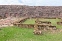 Archaeological site El Fuerte de Samaipata (Fort Samaipata). World Heritage Site El Fuerte de Samaipata (Fort Samaipata) located in the Santa Cruz Department Royalty Free Stock Image