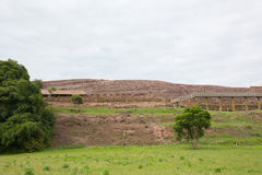 Archaeological site El Fuerte de Samaipata (Fort Samaipata). World Heritage Site El Fuerte de Samaipata (Fort Samaipata) located in the Santa Cruz Department Stock Photo