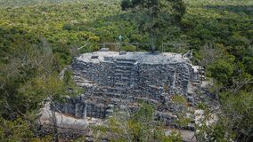 Free Archaeological Site: El Mirador, The Cradle Of Mayan Civilization And The Oldest Mayan City In History Stock Image - 172845291