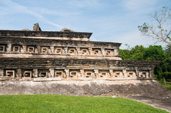 Archaeological site of El Tajin (Mexico) Stock Images