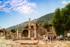 Archaeological site of Ephesus in Turkey. Stock Photo