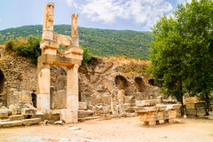 Archaeological site of Ephesus in Turkey. Stock Images