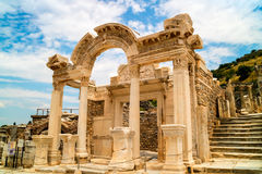 Archaeological site of Ephesus in Turkey. Stock Photo