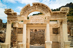 Archaeological site of Ephesus in Turkey. Stock Image