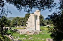 Archaeological site, Greece Stock Image
