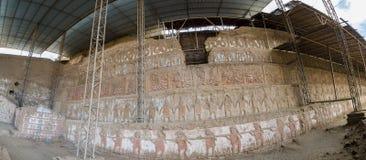 Archaeological site Huaca del Sol y de la Luna, Peru Royalty Free Stock Photo