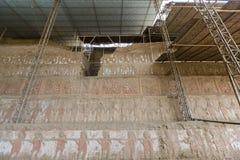 Archaeological site Huaca del Sol y de la Luna, Peru Royalty Free Stock Image