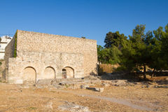 Archaeological site, Kos, Greece. Royalty Free Stock Photo