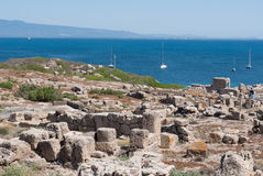 Archaeological site Stock Images