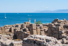 Archaeological site Royalty Free Stock Photo