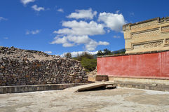 Archaeological site of Mitla in the state of Oaxaca, Mexico royalty free stock photography
