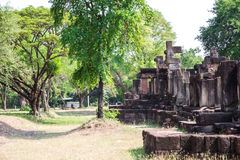 Archaeological site. Archaeological site in the north east of Thailand Stock Photo