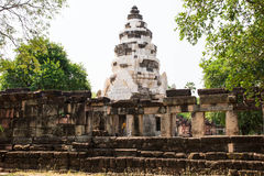 Archaeological site. Archaeological site in the north east of Thailand Stock Photography