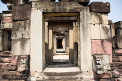 Archaeological site. Archaeological site in the north east of Thailand Royalty Free Stock Photo