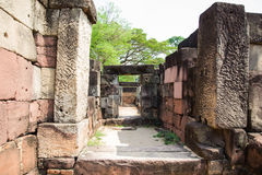 Archaeological site. Archaeological site in the north east of Thailand Stock Photos