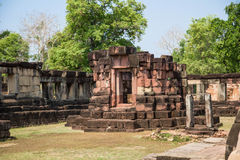 Archaeological site. Archaeological site in the north east of Thailand Stock Image