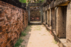 Archaeological site. Archaeological site in the north east of Thailand Royalty Free Stock Photos