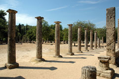 Archaeological Site of Olympia royalty free stock image