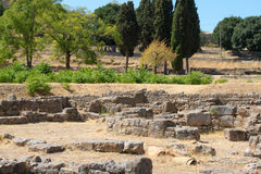 Archaeological site Royalty Free Stock Images