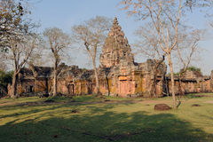 The archaeological site of Phnom Rung Royalty Free Stock Photography