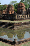 The archaeological site of Prasat Muang Tam Royalty Free Stock Image