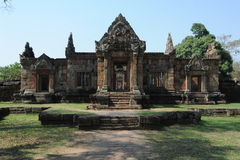 The archaeological site of Prasat Muang Tam Stock Photography
