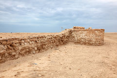 Archaeological site in Qatar Stock Photography